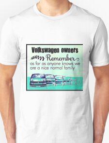 Volkswagen Family Unisex T-Shirt