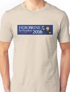 Herobrine for President Unisex T-Shirt
