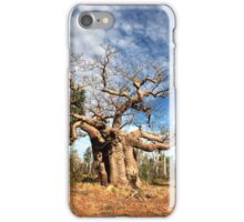 Gnarly Old Boab Tree iPhone Case/Skin