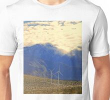 Windmills in the Desert  Unisex T-Shirt