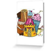 Sweet castle Greeting Card