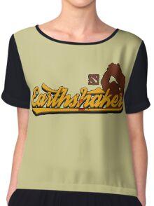 EARTHSHAKER Dota, Dota 2 Shirts Chiffon Top