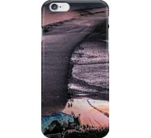 pink road with ghost-dog iPhone Case/Skin
