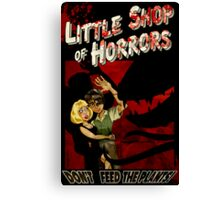 Little Shop of Horrors - pulp style Canvas Print