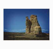 Kansas Castle Rock with Bluesky One Piece - Short Sleeve