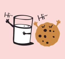 Hi Hi cookie and Milk Kids Tee