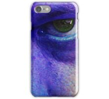 green eye from hell iPhone Case/Skin