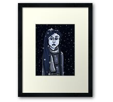 Lonely Lola in colours... Framed Print