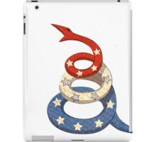 Patriotic Snake iPad Case/Skin