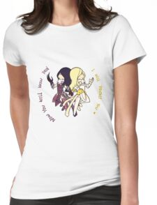 Smite - Two shades of Hel (Chibi) Womens Fitted T-Shirt