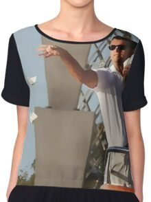 Wolf Of Wall Street Chiffon Top