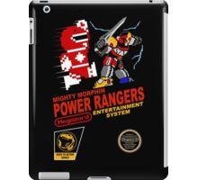 8-bit Power Rangers iPad Case/Skin