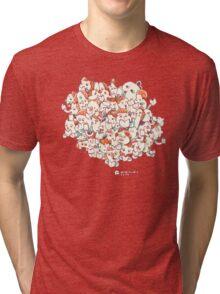 Minicomic.club cloud Tri-blend T-Shirt