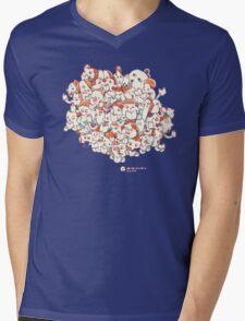 Minicomic.club cloud Mens V-Neck T-Shirt