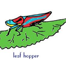 Leaf Hopper Sticker