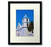California Mission Framed Print