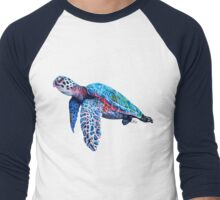 Sea Turtle Men's Baseball ¾ T-Shirt