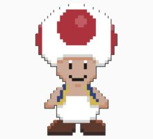 Toad Pixelized by Violentsofa