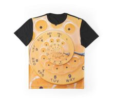 Vintage  Retro Rotary Dial Spiral Droste Graphic T-Shirt