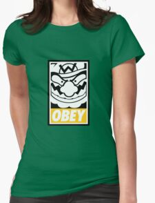 OBEY WARIO Womens Fitted T-Shirt
