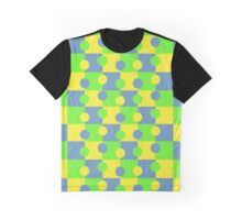 Retro abstract  pattern Graphic T-Shirt