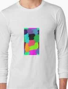Colour Patches Long Sleeve T-Shirt