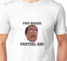 Stanley Hudson Pretzel Day Unisex T-Shirt
