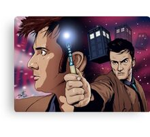 Doctor Ten Canvas Print