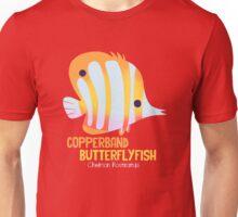 Copperband Butterflyfish Unisex T-Shirt