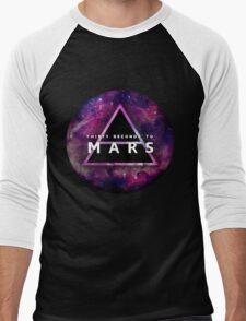30 Seconds to Mars: Galaxy Design Men's Baseball ¾ T-Shirt
