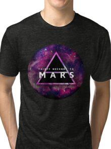 30 Seconds to Mars: Galaxy Design Tri-blend T-Shirt