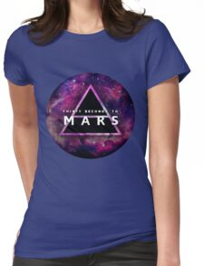 30 Seconds to Mars: Galaxy Design Womens Fitted T-Shirt