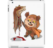 EWOKS VS STARWARS iPad Case/Skin