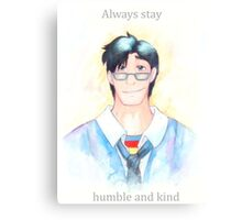 Words of Superman Canvas Print