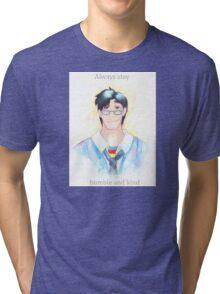 Words of Superman Tri-blend T-Shirt