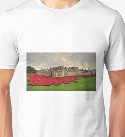 Tower Poppies  Unisex T-Shirt