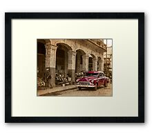 open for trading Framed Print
