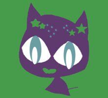 Purple kitten One Piece - Short Sleeve
