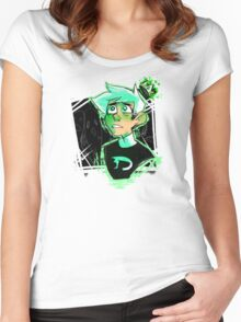 King Danny Phantom Women's Fitted Scoop T-Shirt