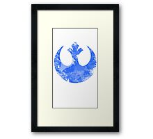 Rebel emblem Framed Print