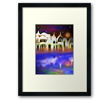 Where the East Wind Blows Framed Print