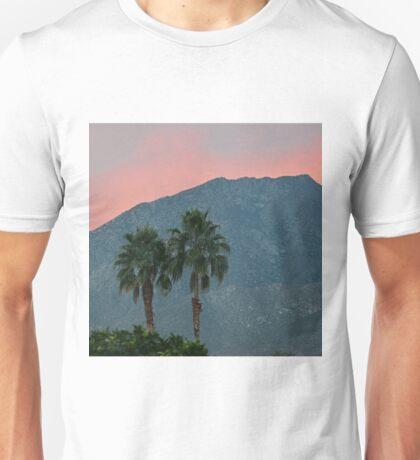 Palm Springs Dusk  Unisex T-Shirt