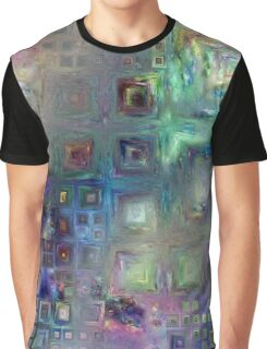 Crystalline Squares 7 Graphic T-Shirt