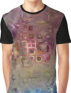 Crystalline Squares 6 Graphic T-Shirt