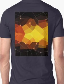 Abstract background. Hot pink. Color space. Unisex T-Shirt