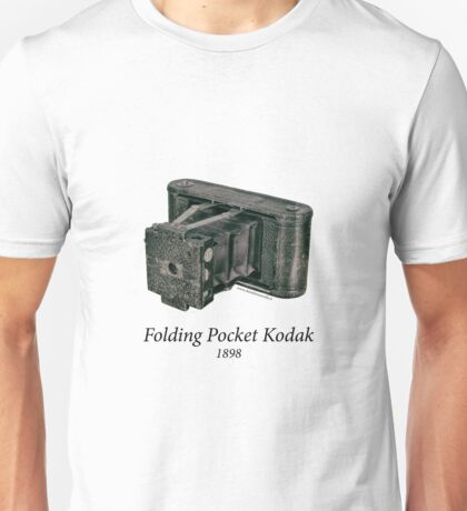 Folding Pocket Kodak Unisex T-Shirt