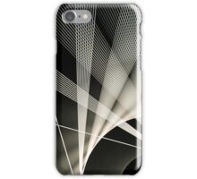 Rotating spikes  iPhone Case/Skin