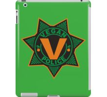 Vegan Police iPad Case/Skin