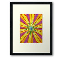 Colored III Framed Print
