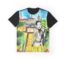 Rooftop Garden Ladies Graphic T-Shirt
